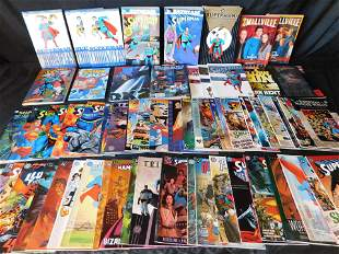 Large Lot of Superman Related Prestige Format One-