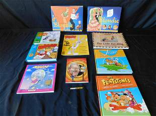 Lot of Cartoon and Comic Strip Related Books