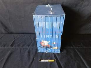 Herge The Adventures of Tintin Box Set Vol. 1-8. Sealed