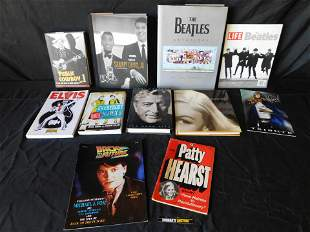 Large Lot of Music Related Hard and Softcover Books
