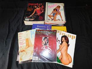 Large Lot of Playboy Special Editions from 1980-1989