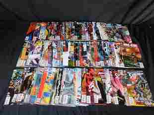 Short Box of Comics including Batman