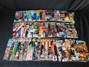 Short Box of Comics including Batman, Wonder Woman,
