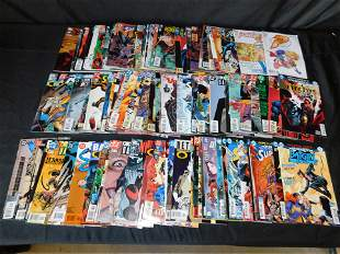 Short Box of Comics including Supergirl and Nightwing