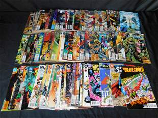 Short Box of DC Comics including Birds of Prey and