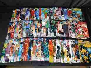 Short Box of DC Comics including Batman Beyond