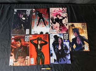 Lot of 7 Adam Hughes Catwoman Comics