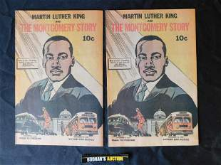 Lot of 2 Martin Luther King and The Montgomery Story