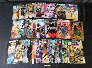 Short Box of DC Comic Books