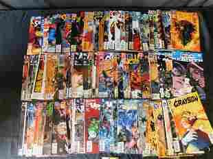 Short Box of DC Comics including Batman, Wonder Woman