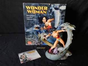 DC Direct Wonder Woman Cold Cast Porcelain Statue