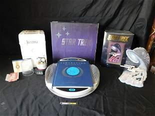Lot of 3 Star Trek Items including Sculptures