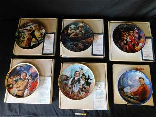 Lot of 6 Collector Plates including Star Wars
