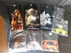 Lot of 8 Vintage T-Shirts - Comic Themed