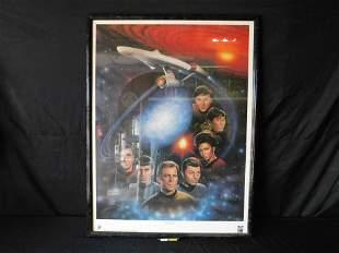 "Star Trek ""The First Family"" Framed Lithograph"