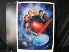 """Star Trek """"The Next Generation"""" Unframed Lithograph"""