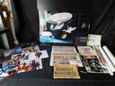 Mixed Lot with Posters and Sunday Funnies Comic Strip