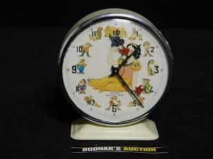 1964 Walt Disney Snow White and the Seven Dwarfs Alarm