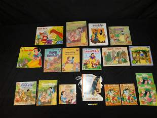 Snow White Children's Book Lot