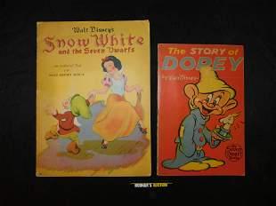 Lot of 2 Snow White Vintage Books
