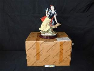 Giuseppe Armani Snow White with Blue Bird Statue