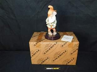 Giuseppe Armani Sneezy Dwarf Statue