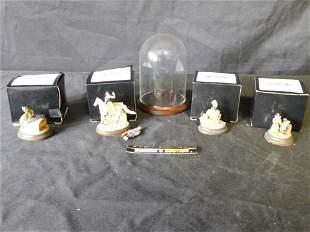 Olszewski/Goebel Disney Snow White Miniature Lot of 4