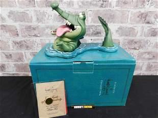 """WDCC """"Tick Tock Tick Tock"""" Crocodile Peter Pan Figurine"""