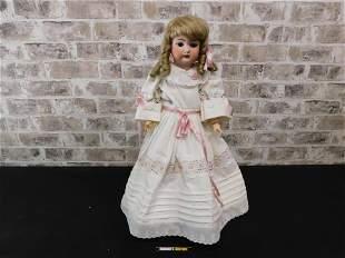 Antique Simon & Halbig German Bisque Head Doll with