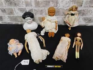Lot of Mixed Dolls