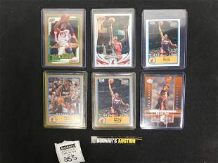 Lot of 6 Dwayne Wade Cards - RC, Refractor, Auto