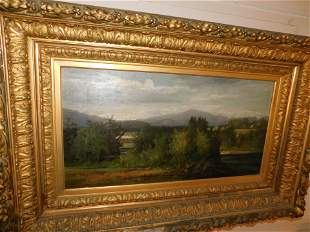 Oil on Canvas Landscape - BB