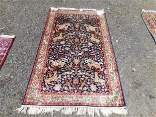 and Made Silk Prayer Rug