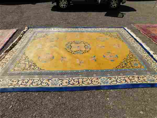 Hand Made Chinese Room Size Rug