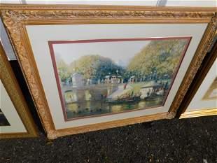 Large Framed Print of Central Park