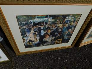 Framed Print by Renoir