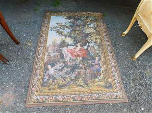 Very Fine Hand Made French Tapestry