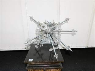 1960's Mid Century Modern Sputnik Chandelier