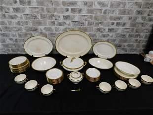Partial Johnson Bros. Pareek Dinnerware Set