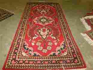 Semi Antique Handmade Prayer Rug