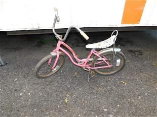 Vintage Girl's Schwinn Bike with Banana Seat