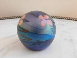 Vandermark Art Glass Paperweight