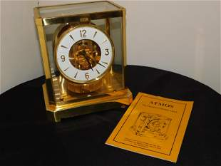 Le Coultre Atmos Clock with Manual