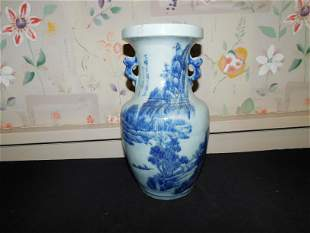 Canton Asian Vase
