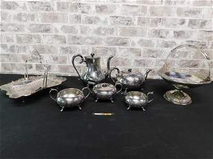 Group Lot of Victorian Silverplate