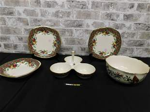 Lot of 5 Pieces of Lenox including Holiday Tartan