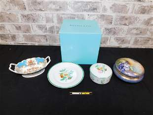 Lot of Porcelain Pieces including Tiffany & Co