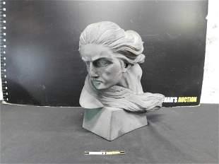 Plaster/Basalt Bust of a Woman