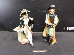 Lot of 2 Royal Doulton Figurines