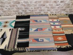 Lot of 6 Native American Prayer Rugs